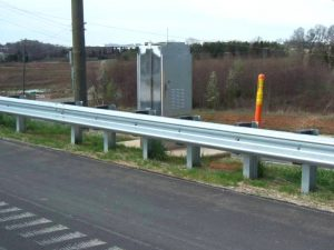 Warna Merah Reflektor Guardrail Pembatas Jalan Murah Per Pcs