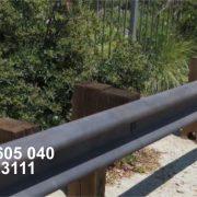 Jual Pembatas Jalan (Guardrail) Anti Korosi Lengkap Dengan Kompenennya