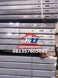 Post Per 4 Meter Guardrail Pagar Pembatas Jalan Diskon Sesuai Quantity
