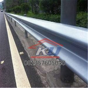 Radius Custom Guardrail Pembatas Jalan Murah Per Unit Include PPn