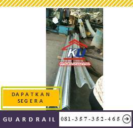 Harga Guardrail Jalan Per Meter Murah Include Eye Cat