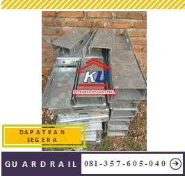 Harga Guardrail Jalan Per Meter Murah Tebal Post 4,5 mm Ready Stock